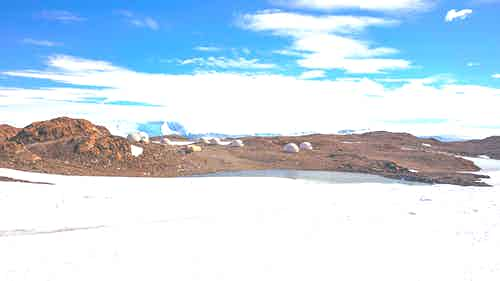 Whichaway Camp, Queen Maud Land, Antarctica /Andrew Shiva