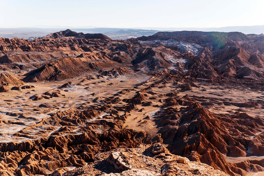 Ask about custom Atacama desert tours to the otherworldly salt flats.