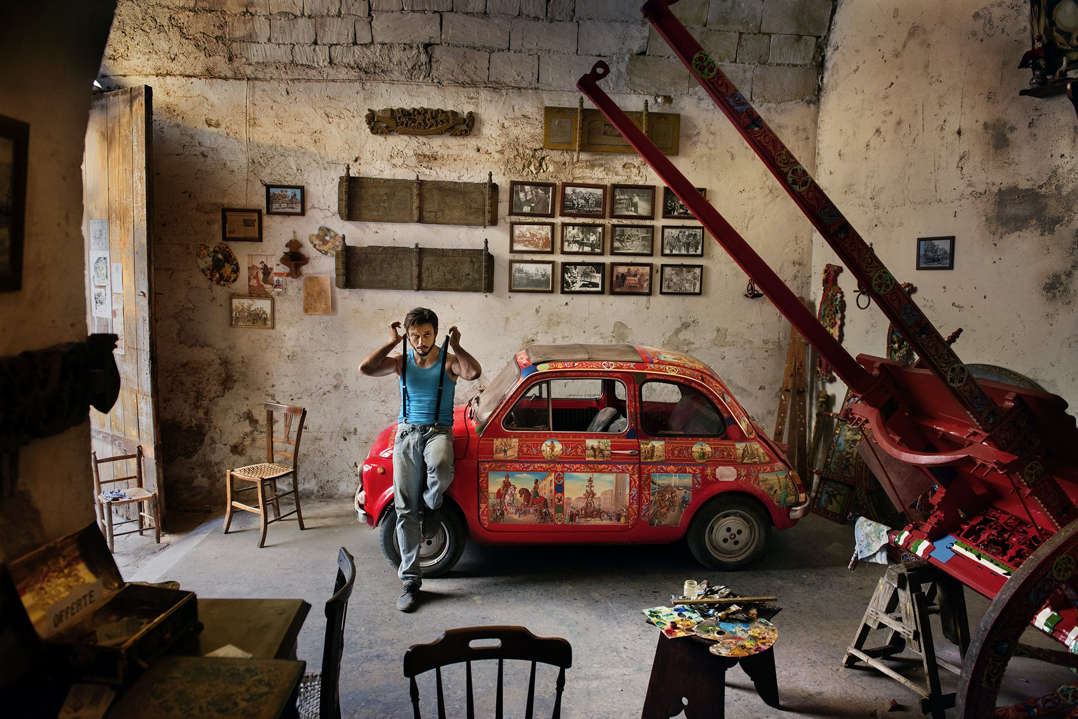Sicily by Steve McCurry for Silversea