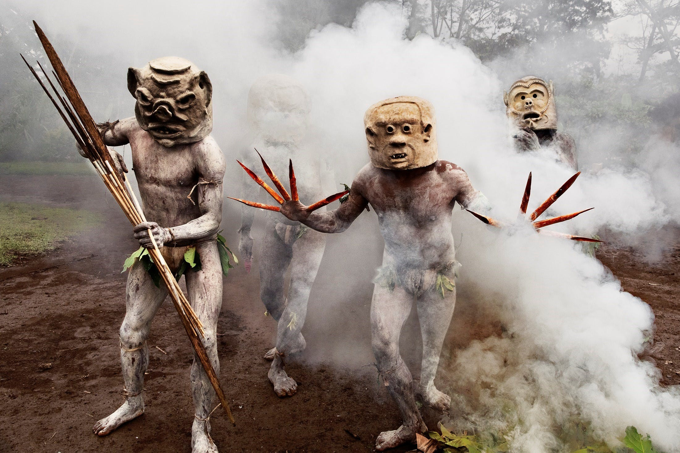 Steve McCurry in Papua New Guinea