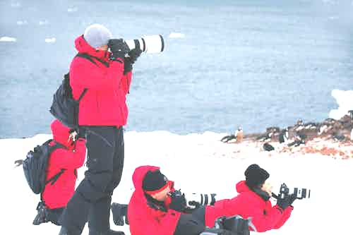 Photography pack list for Antarctica