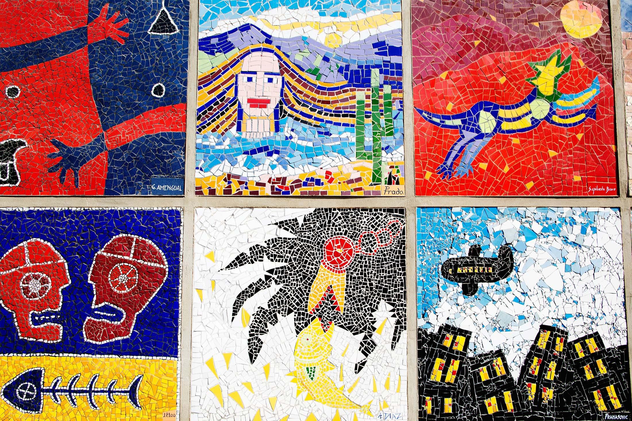 Artistic murals of Antofagasta, Chile