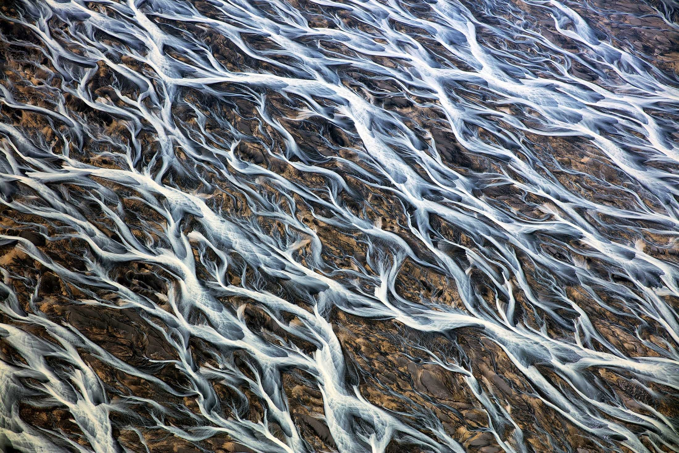 Iceland's Braided Rivers - Iceland travel