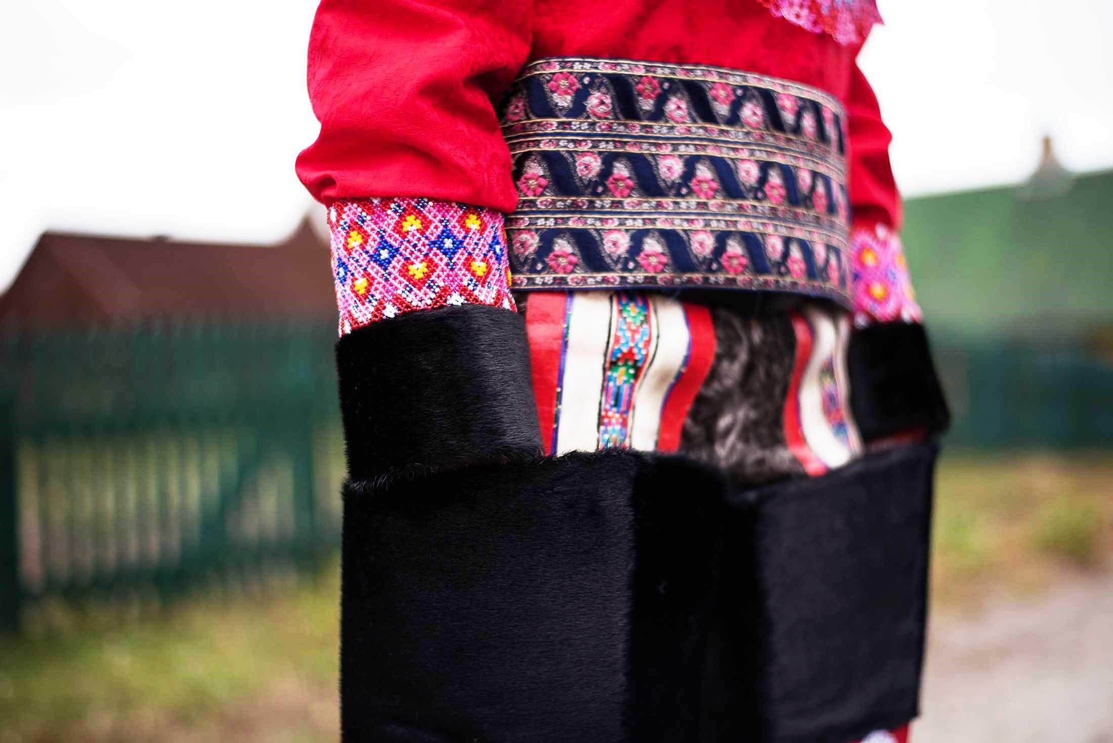 Traditional Greenlandic attire - Sisimiut, Greenland