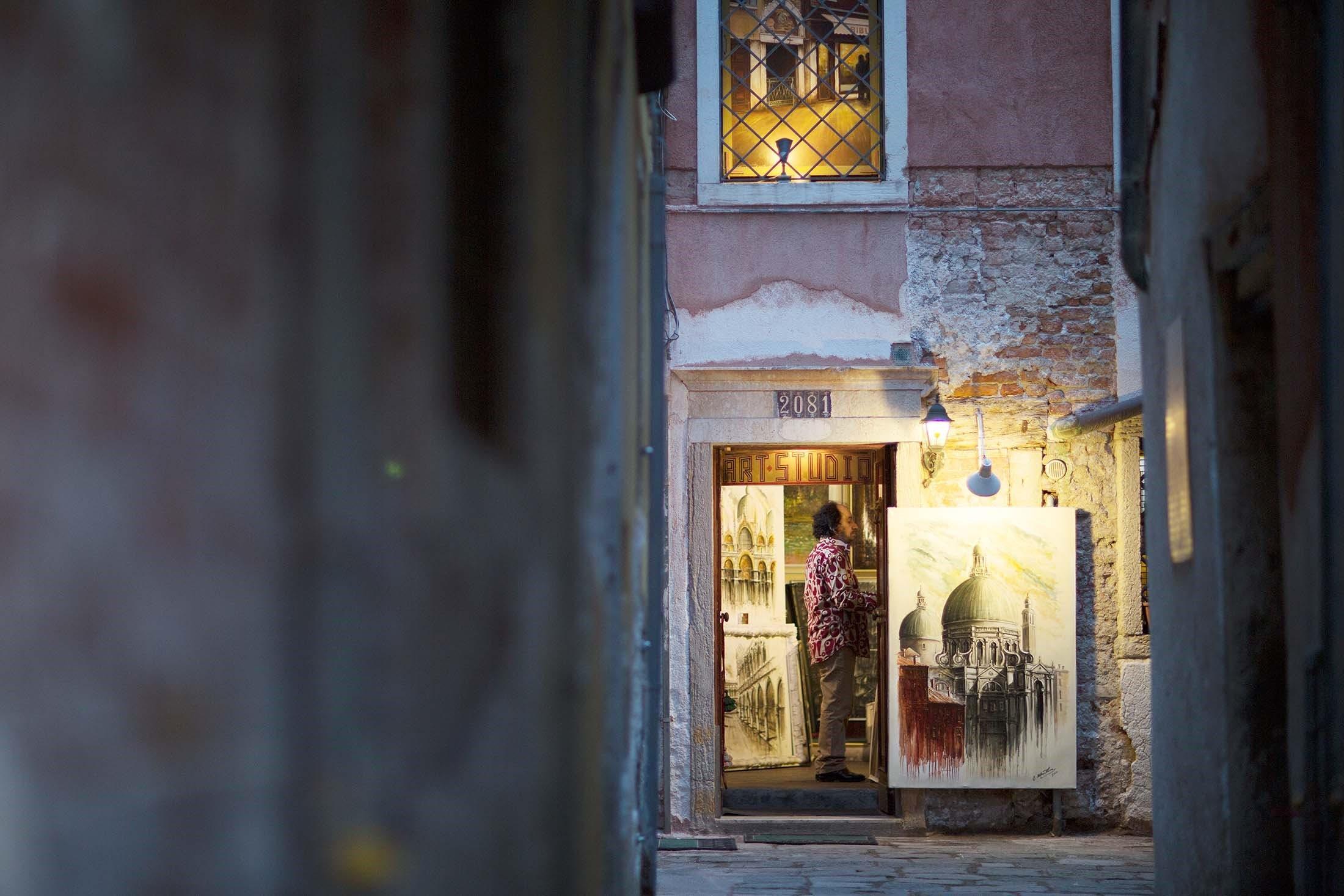 Art in Venice, Italy
