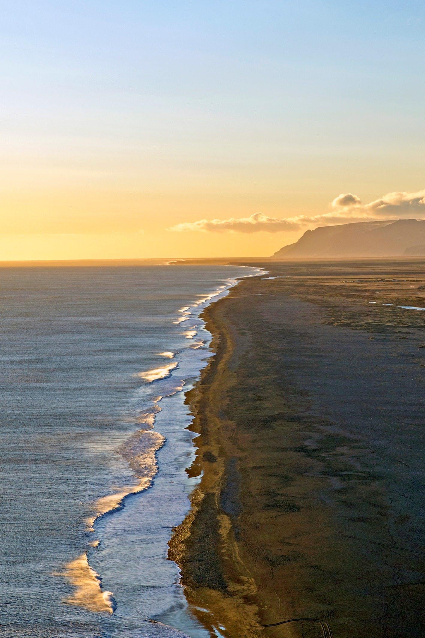 Black Sand Beach, Vik - Iceland travel