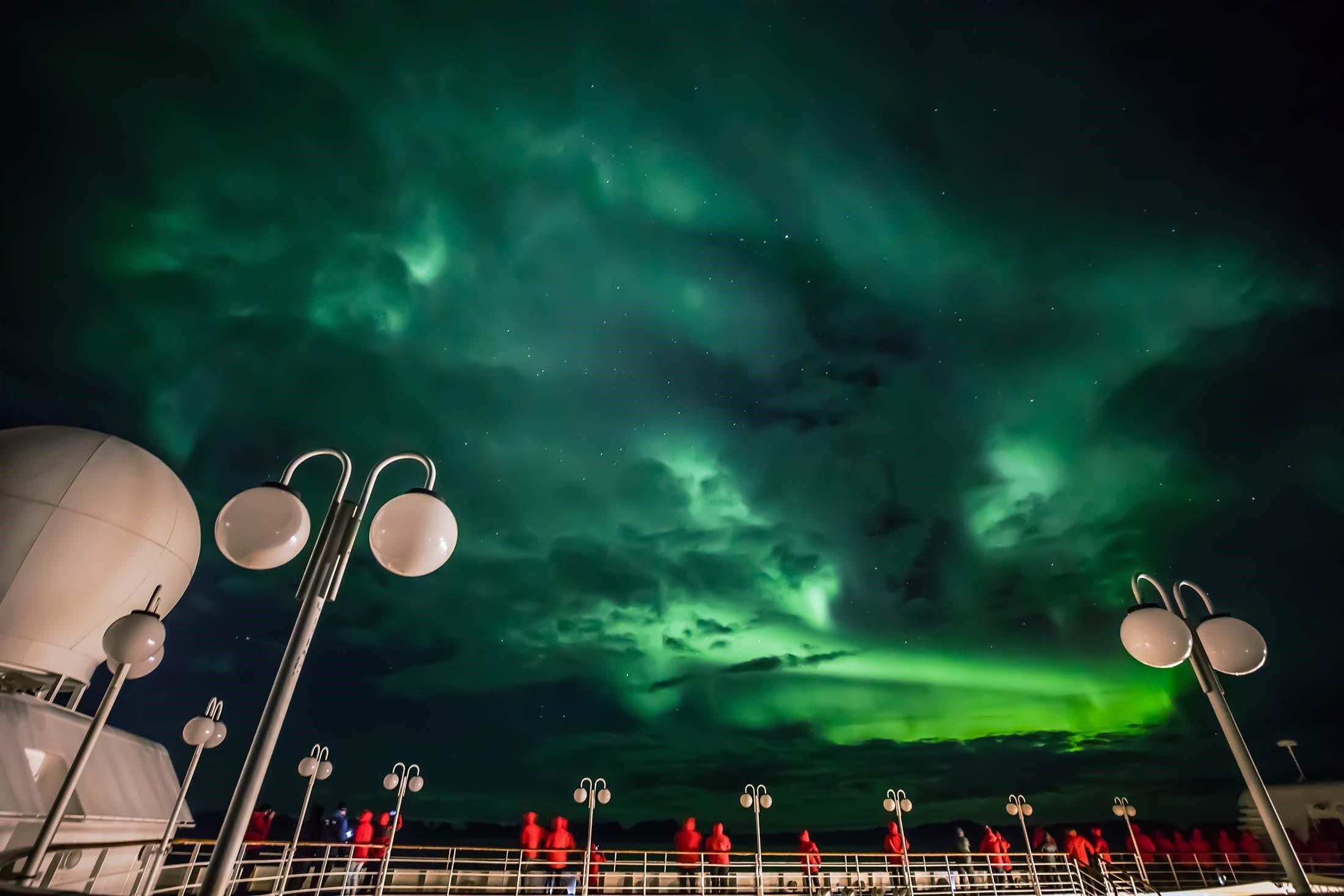 Northern lights - Aurora Borealis cruise