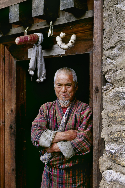Bhutan by Steve McCurry