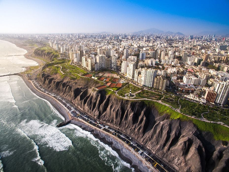 Lucury cruise to Lima, Peru