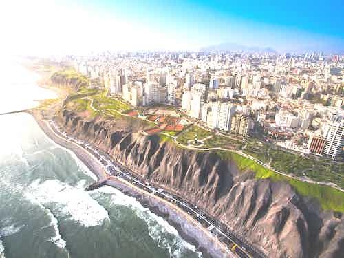 Lucury cruise to Lima, Peru