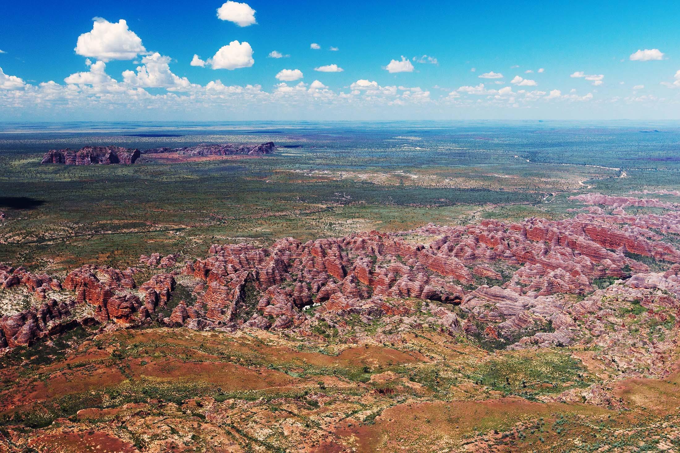 The Bungle Bungle range, Kimberley, Australia