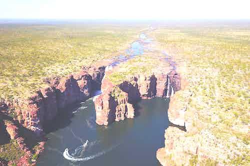 King George Falls, Kimberley, Australia