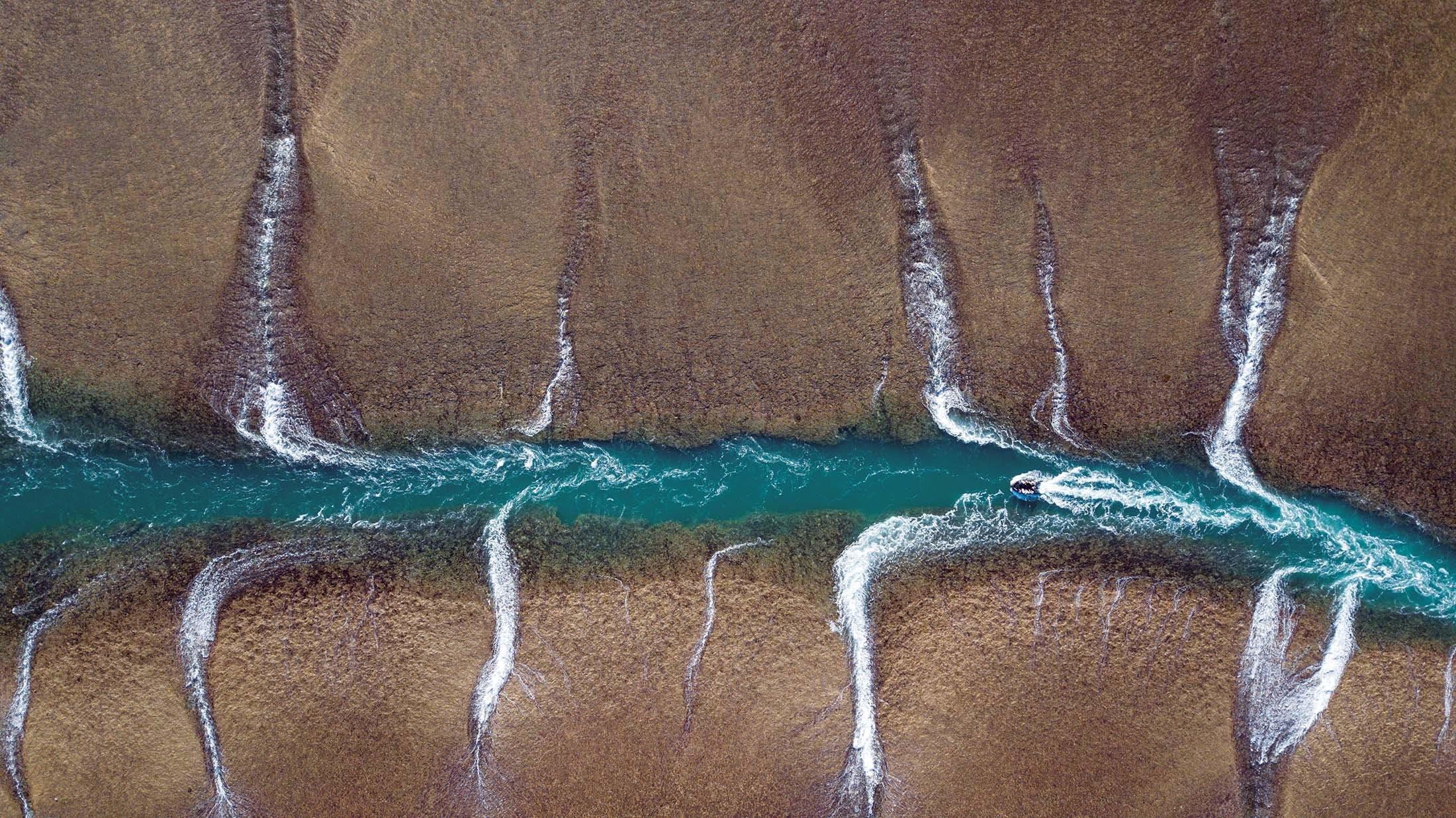 Mongomery Reef, Kimberley,