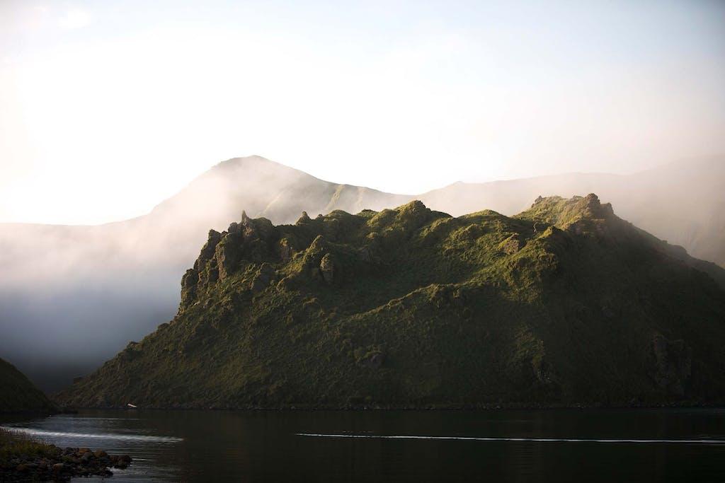 Silversea's Russian Far East cruises includes stops at Yankicha Island.