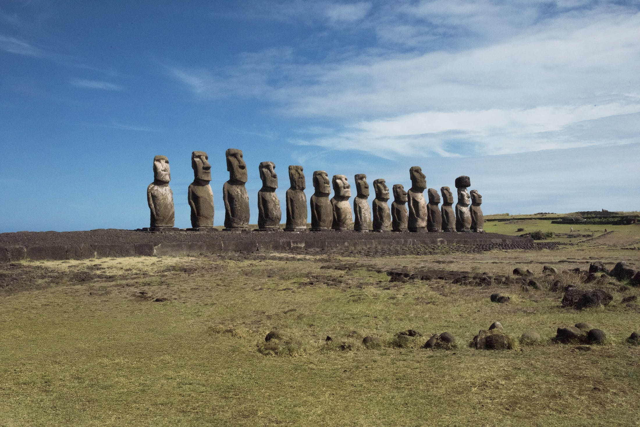 Easter Island by Steve McCurry for Silversea