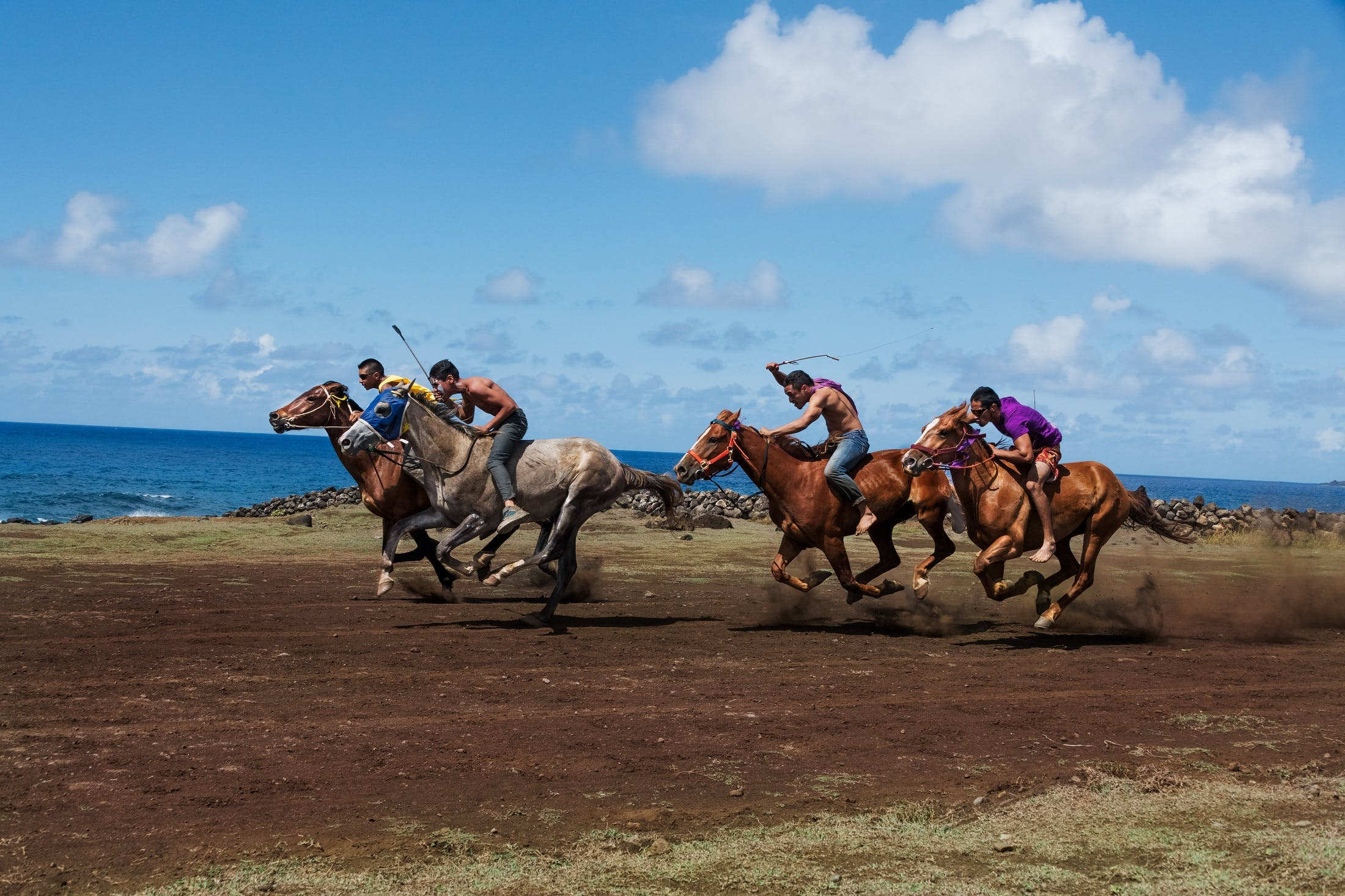 Easter Island by Steve McCurry