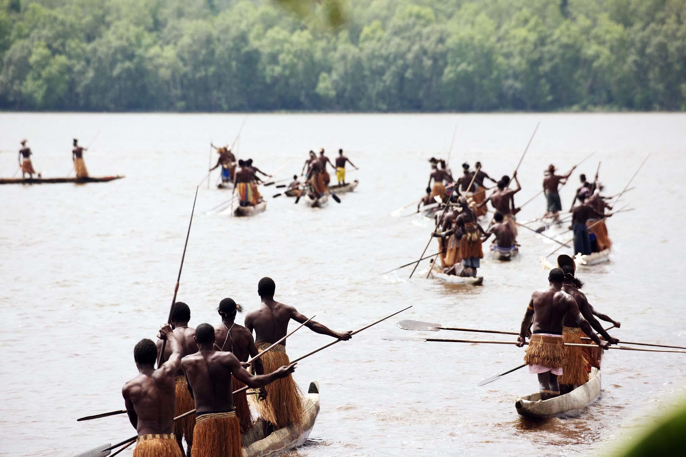 Asmat, West Papua, Indonesia