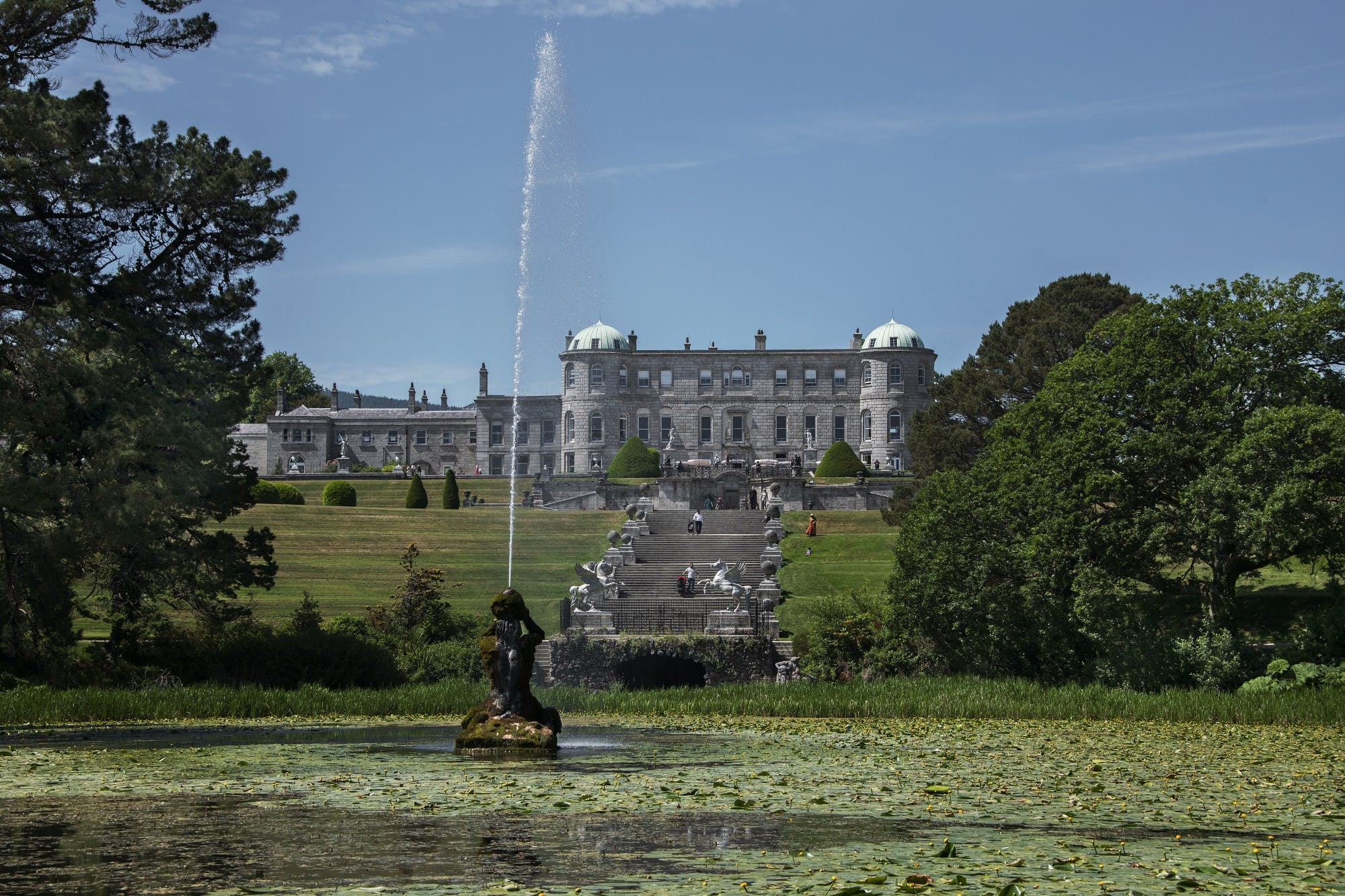 Facade at Powerscourt, Enniskerry, Ireland by Steve McCurry
