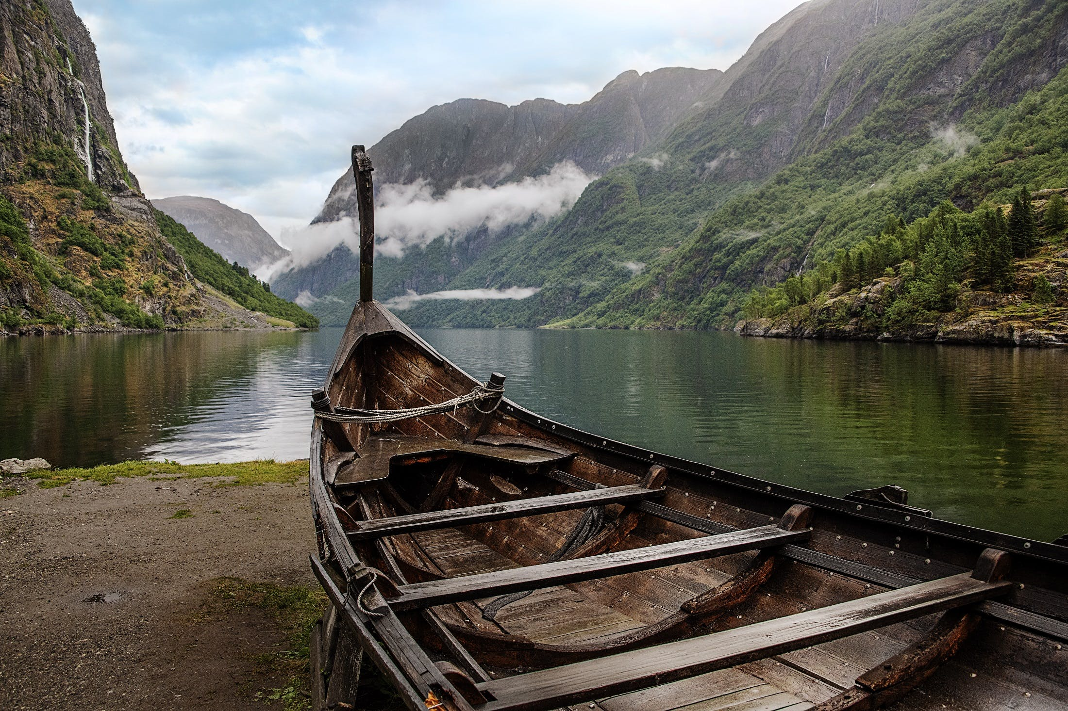 Flam, Norway by Steve McCurry