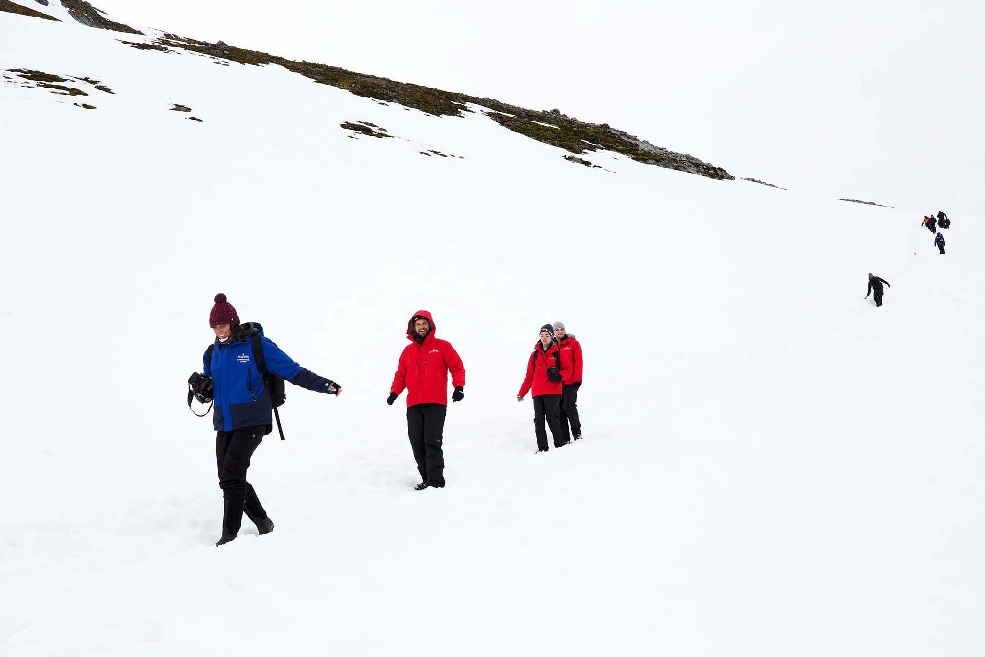 Silversea guests explore Antarctica