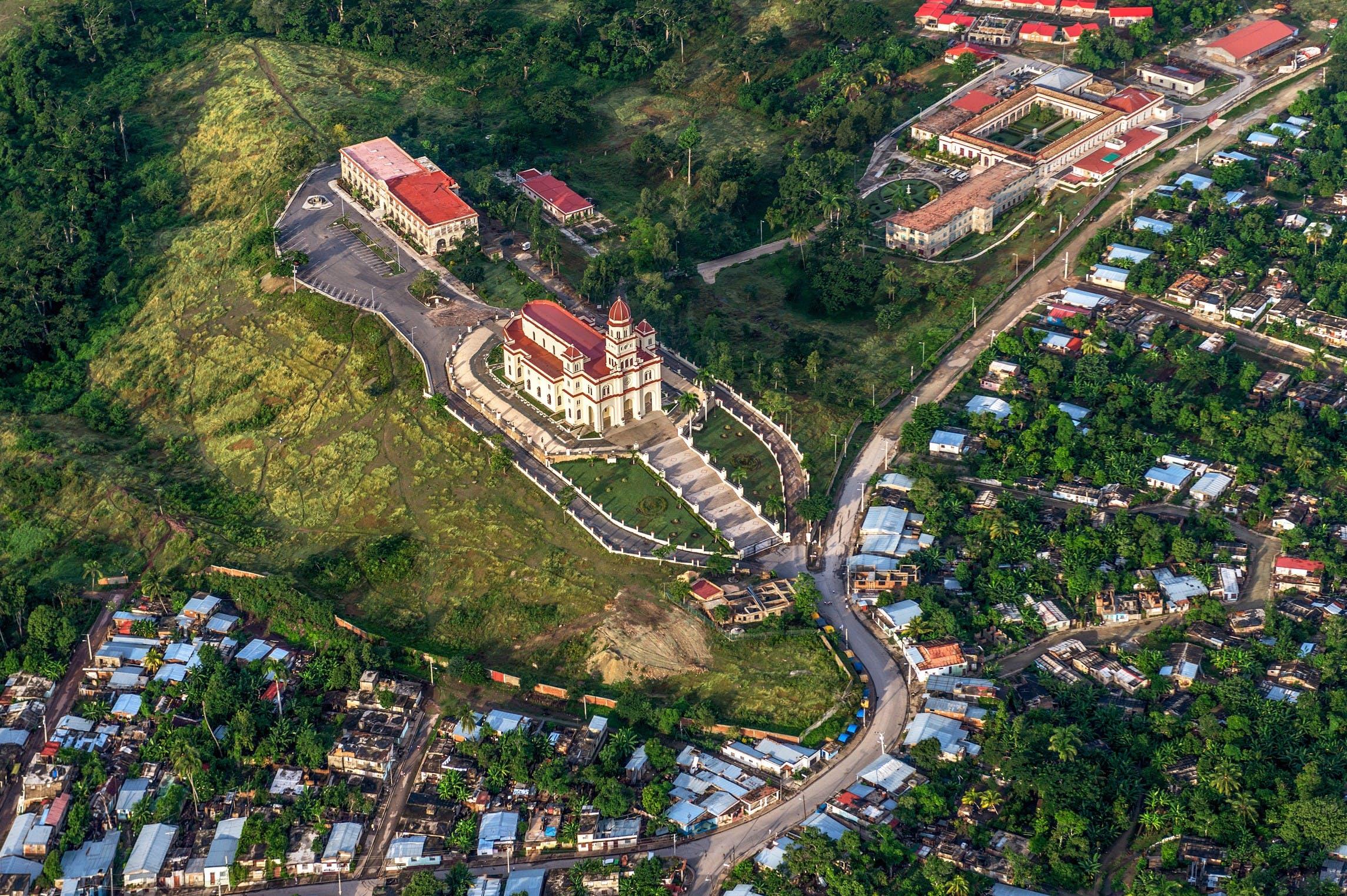 Sierra Maestra Mountains - church - Cuba