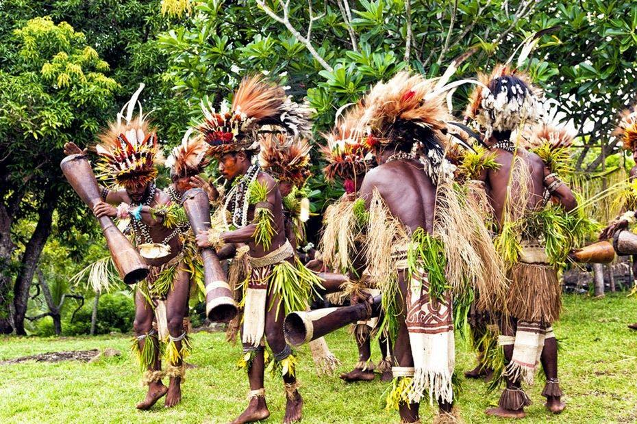 Baining fire people - Papua New Guinea