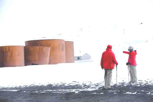Retirement travel - Deception Island, Antarctica