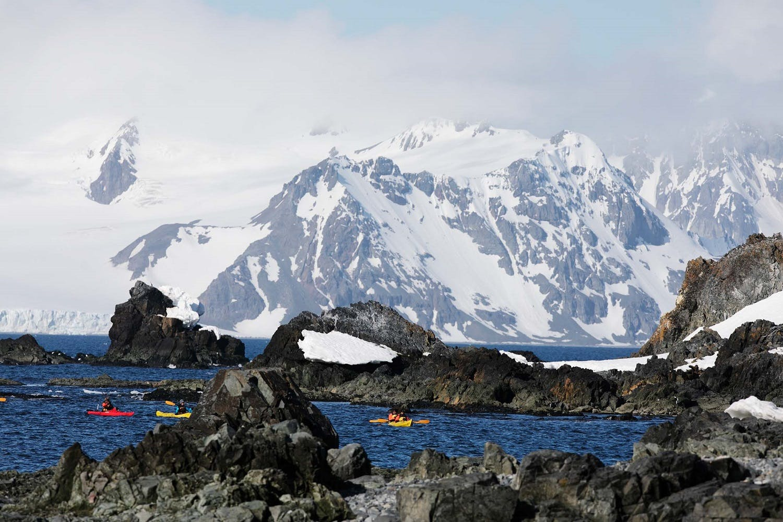 Retirement travel - Half Moon Island