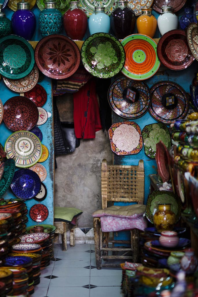 sustainable souvenirs in Marrakesh, Morocco