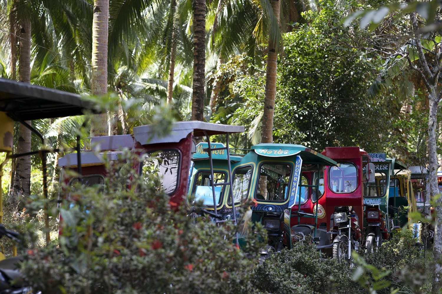 rickshaws in the Philippines