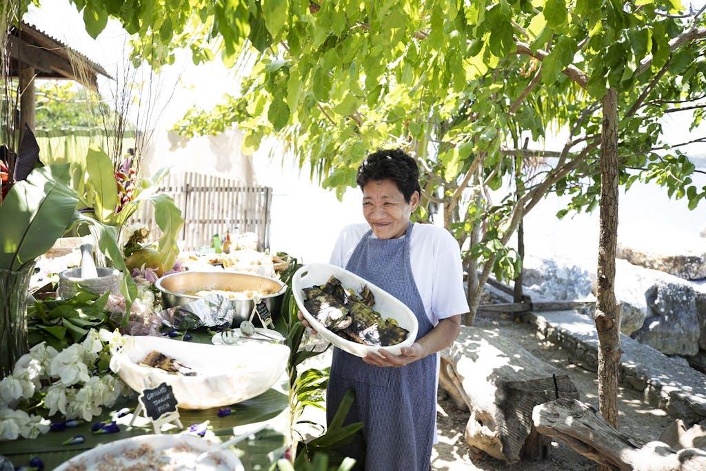 Filipino chef