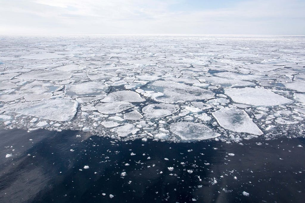 Pack ice - northwest passage