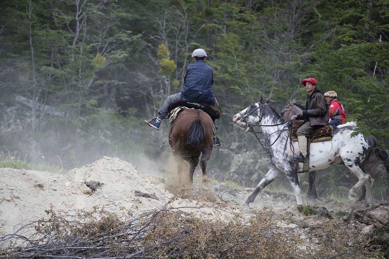 gauchos in Patagonia