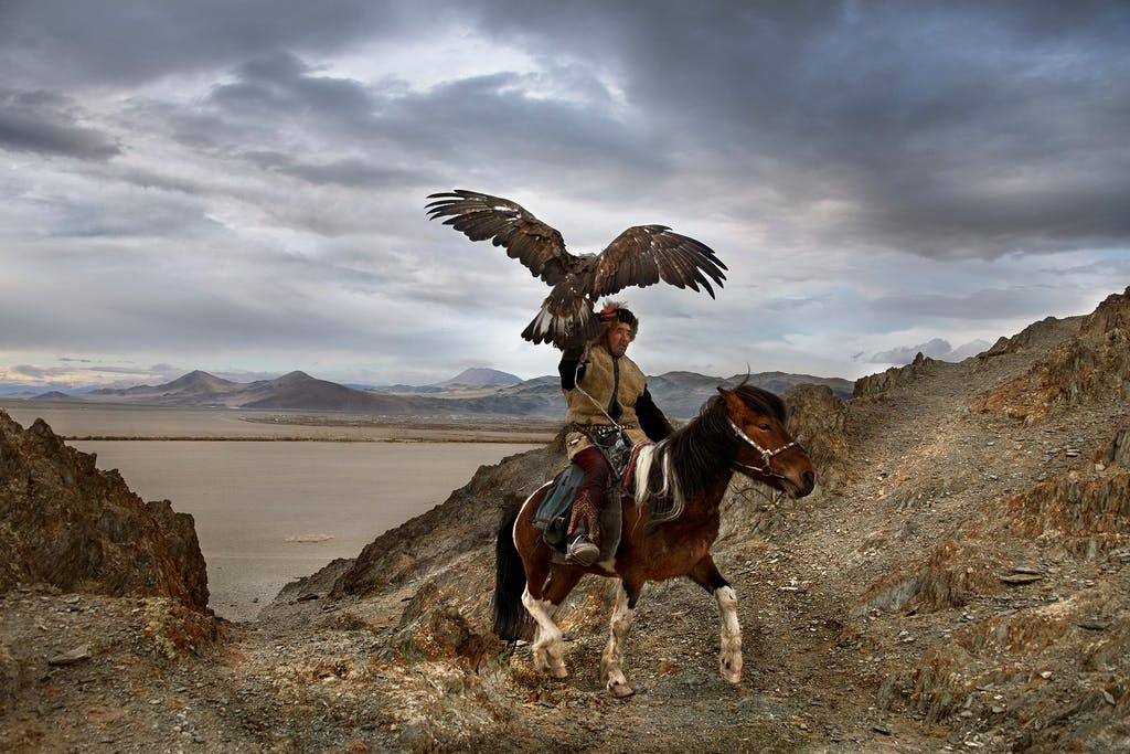 Alternative travel in Mongolia by Steve McCurry
