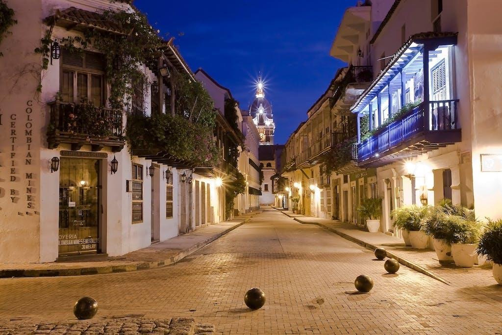 Palenqueras in Cartagena, Colombia