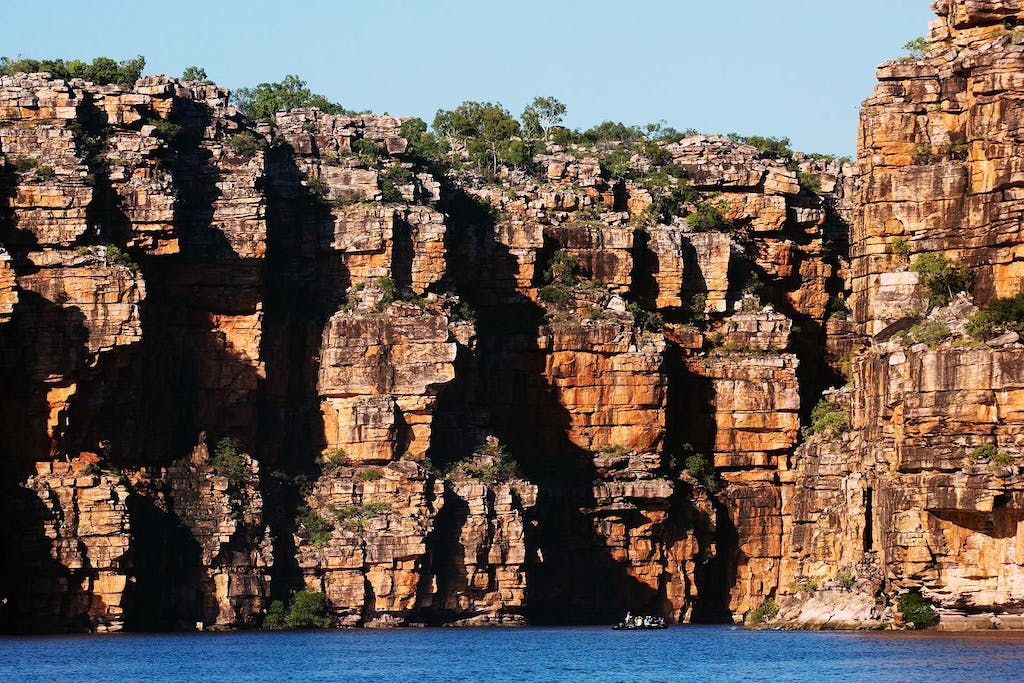 Discover the King George Waterfalls in Western Australia.