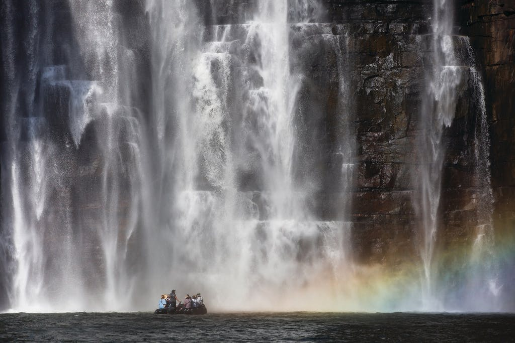 Take a King George falls Zodiac tour with Silversea.