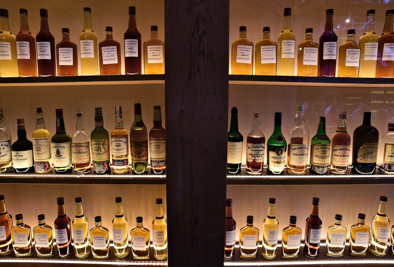 Jameson Irish whiskey in Dublin