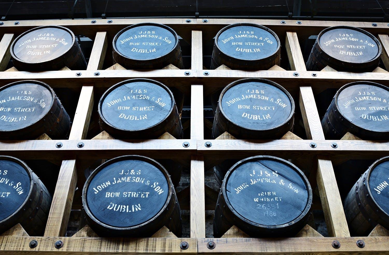 Jameson distillery tour in Dublin