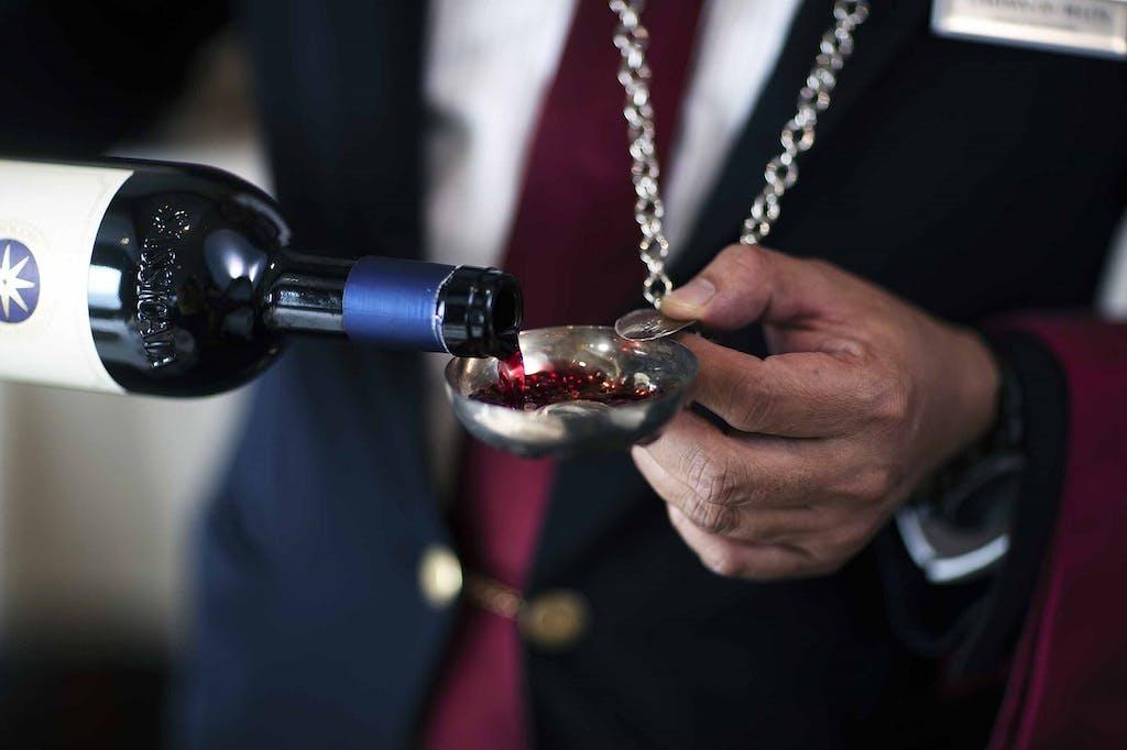 Silversea's wine program