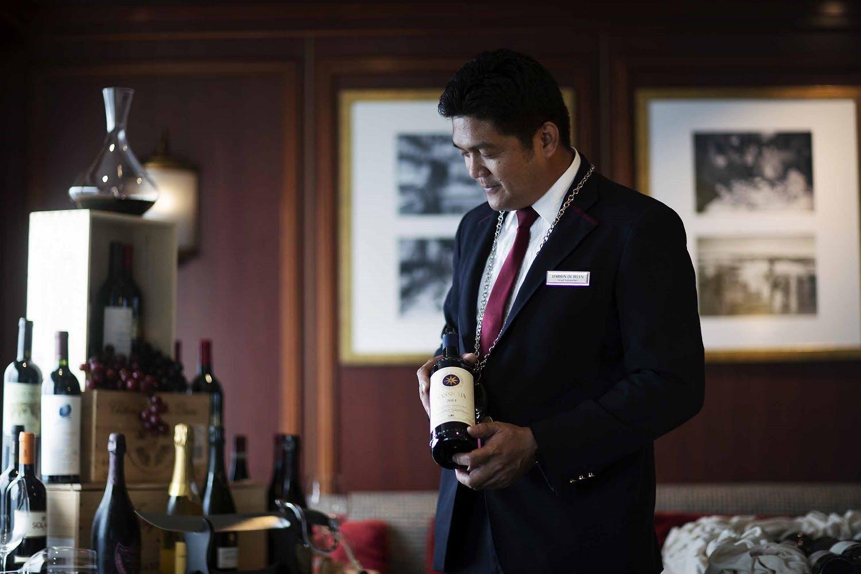 Silversea's wine tasting cruises