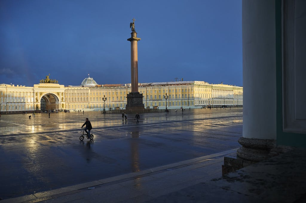 St Petersburg by Steve McCurry