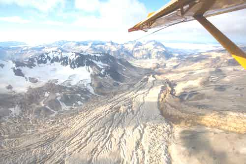 Alaska flightseeing tour