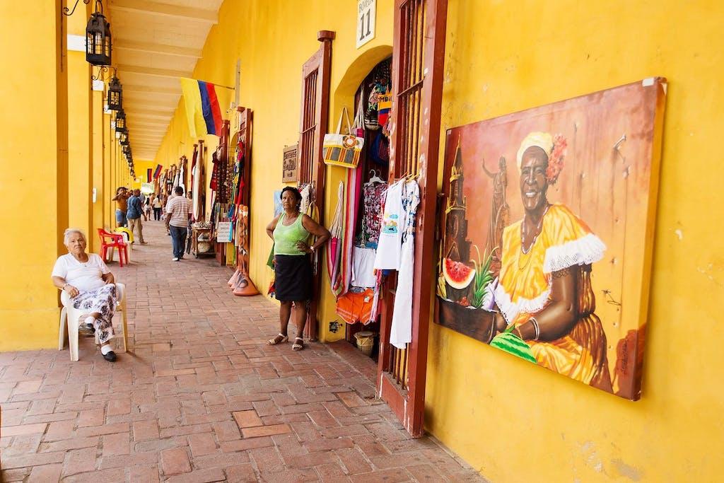 Palenqueras, Cartagena, Colombia