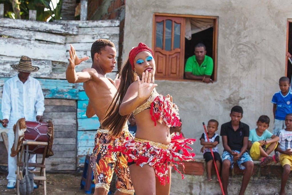 Palenque dancers, Colombia