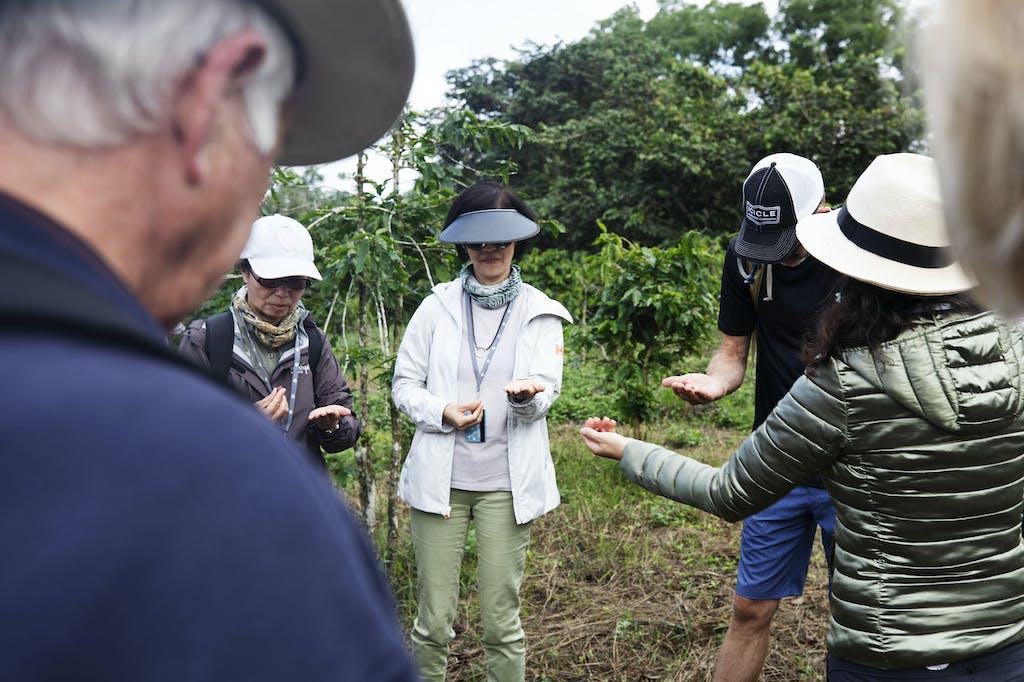 Silversea guests can visit Montemar coffee farm