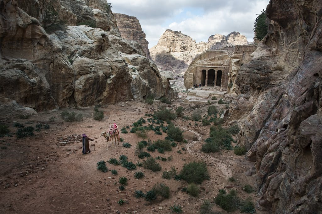 Petra by Steve McCurry