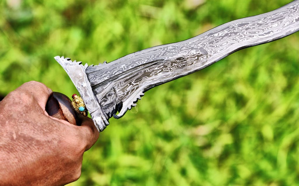 Traditional dagger in Bali - Asia's artisans