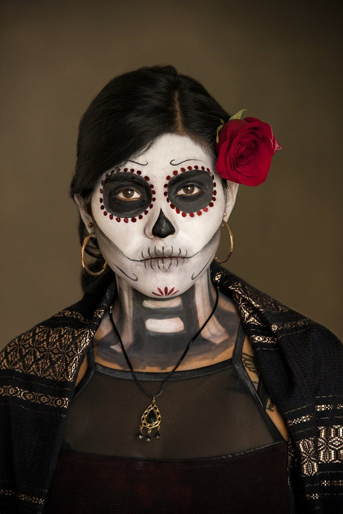 Steve McCurry Portrait - Day of the Dead