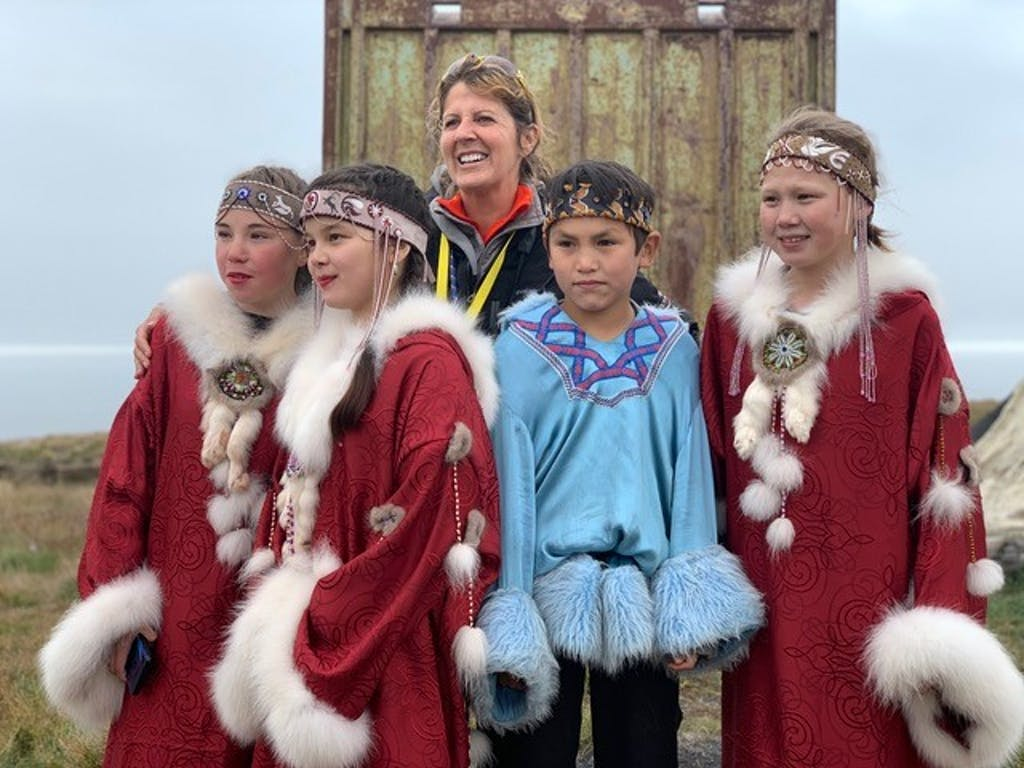 Remote community in the Russian Far East